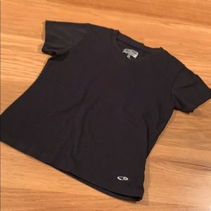 Champion C9 Black Duo-Dry Material Size S 👕